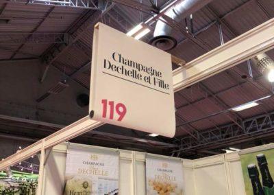 Champagne Henri Dechelle et fille - bâches