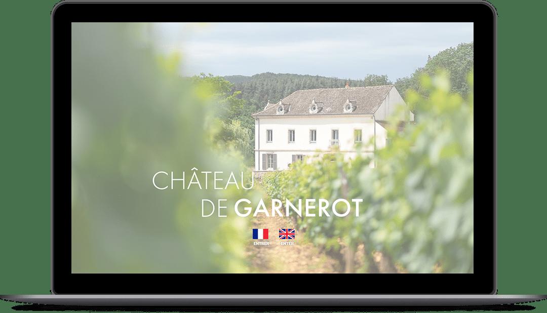 Château de Garnerot - Site internet