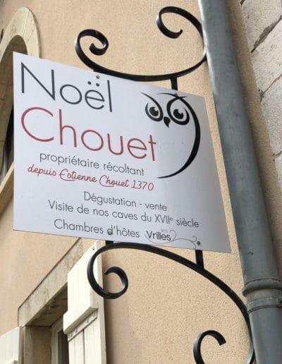 Vins Noël Chouet - Meursault - Signalétique