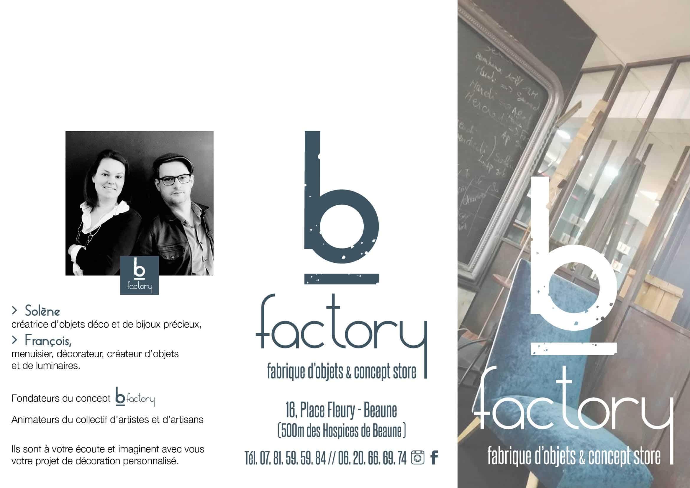 bfactory - plaquette